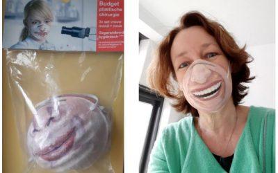 De creatieve mogelijkheden van anti-corona-mondkapjes