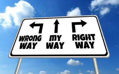 'De goede weg inslaan', hoe doe je dat?